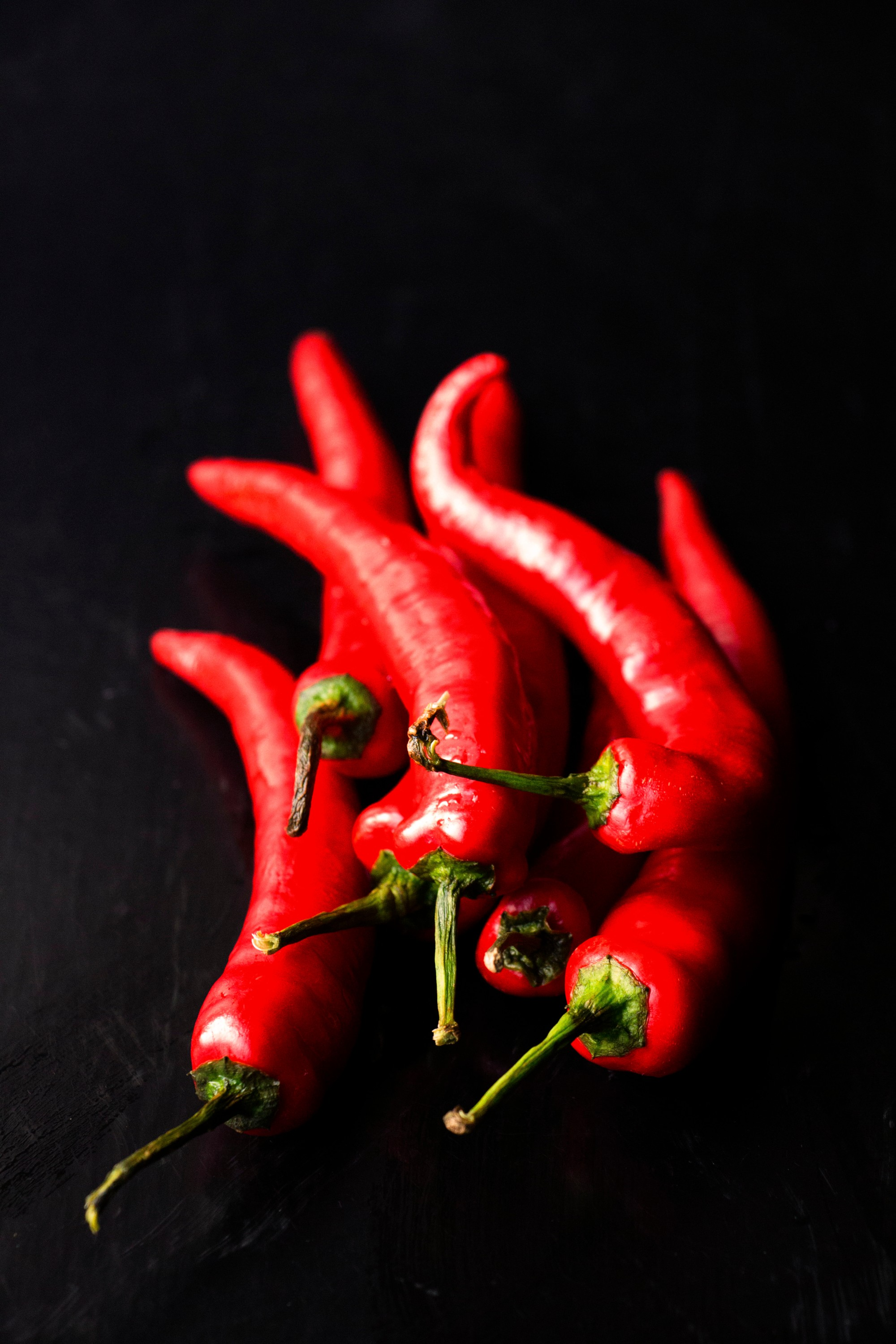Fresh Red Chillies // Pearly Kee's Curry Kapitan // www.cupcakesncurries.com /