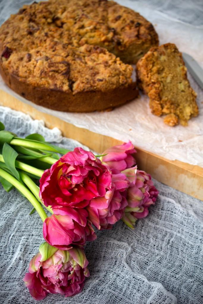 rhubarb crumble cake 04
