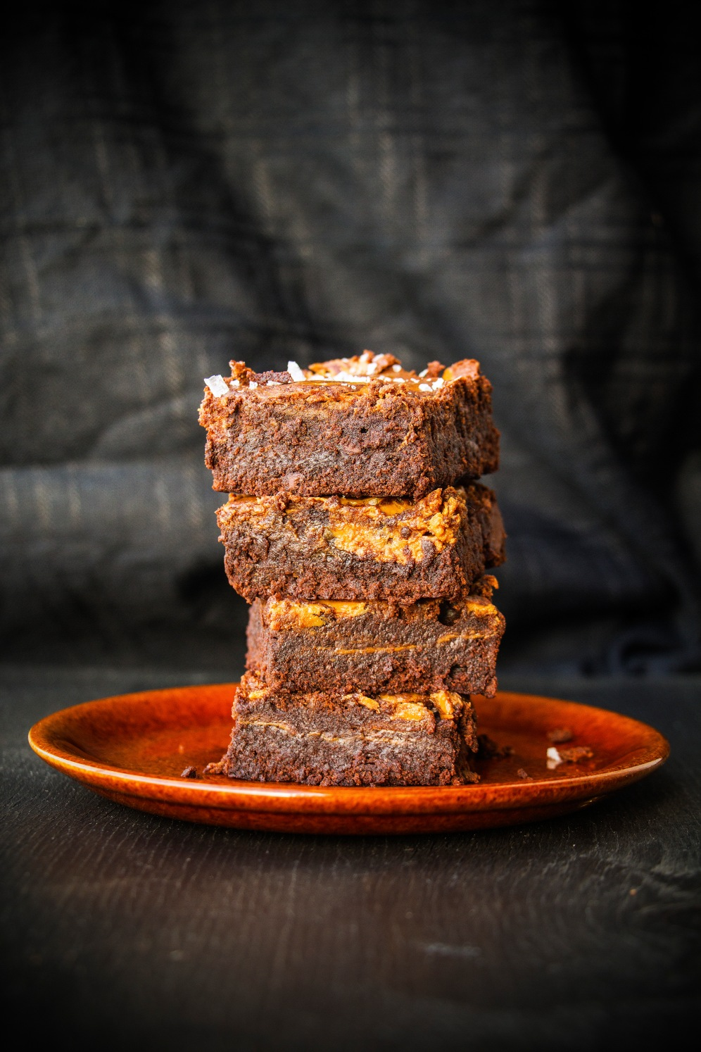 salted milk caramel brownies 04