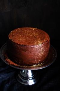 Disco Ball Chocolate Cola Cake04